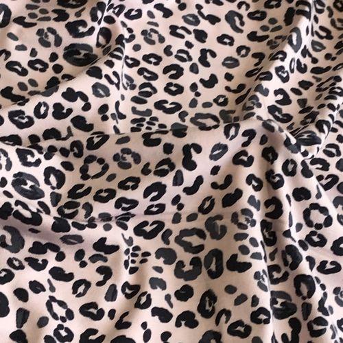 Animal Print Pink Jersey