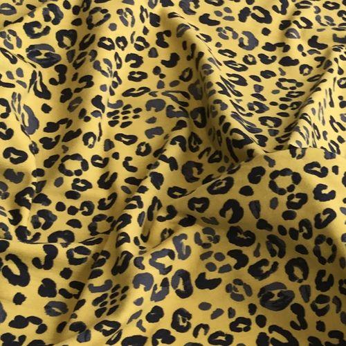 Animal Print Mustard Jersey