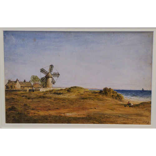Broughty Ferry Watercolour, Signed W.H. Paton R.S.A 1853 - £2,400