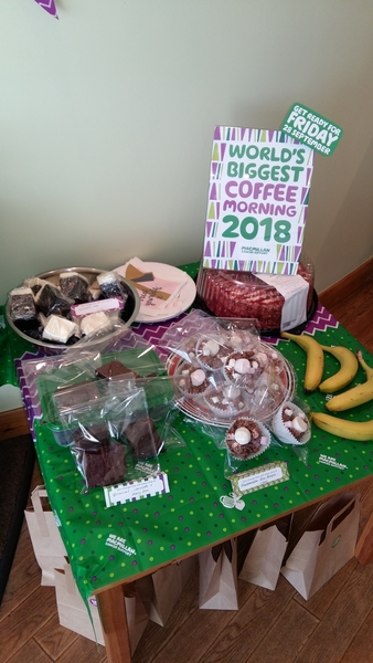 Macmillan Coffee Morning 2018