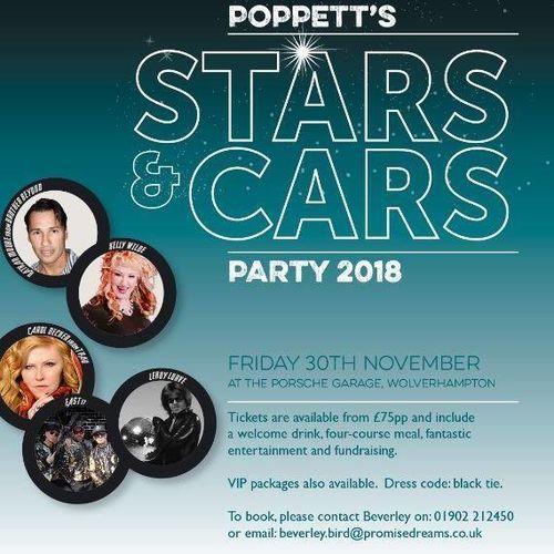 Promise Dreams Gala Ball 2018 - Poppett's Stars & Cars Party