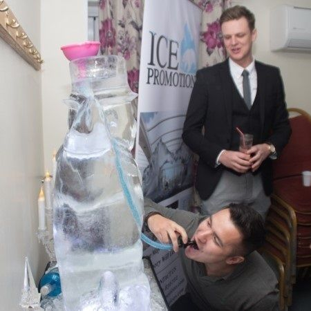 The Vodka Ice Luge