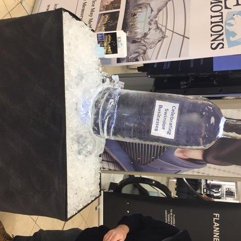 The Vodka Ice Luge