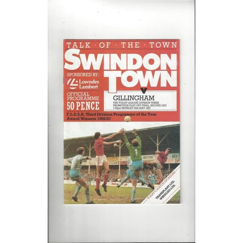 Play Off Semi Final Football Programmes