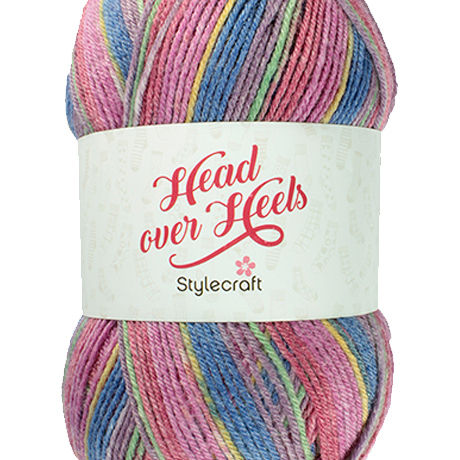 Head Over Heels Boho Sock Yarn