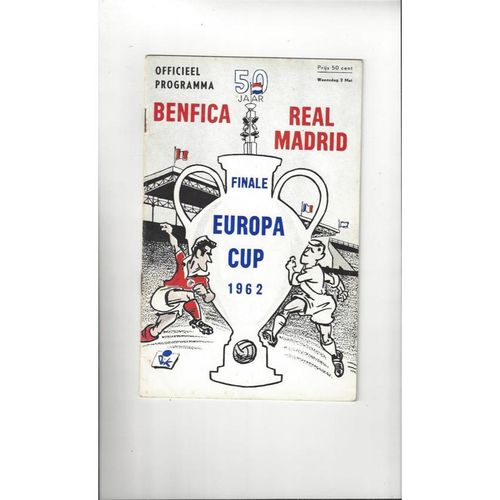 European Cup Final / Champions League Football Programmes