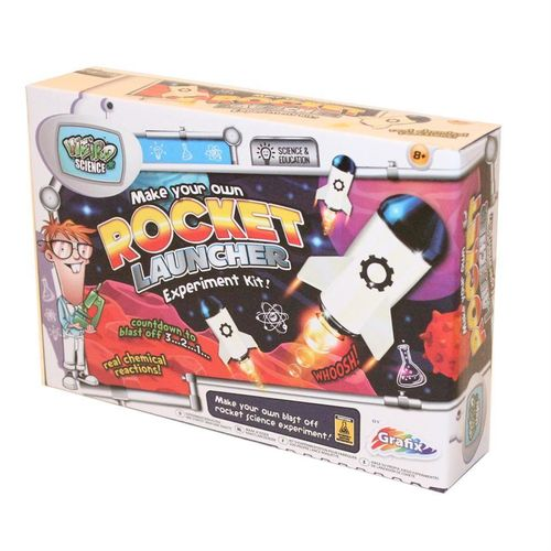 Weird Science Make Your Own Rocket Launcher Experiment Kit