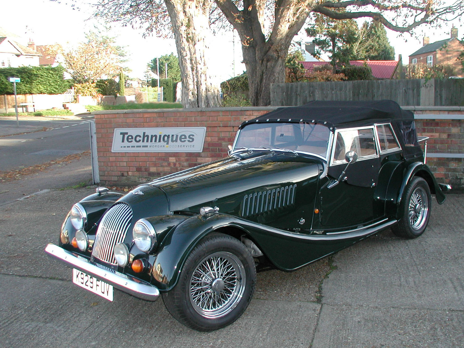 SOLD - 1993 Morgan +4 T16 4 Seater