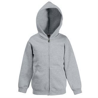 ASKC Classic Zipped kids hooded sweatshirt SS225