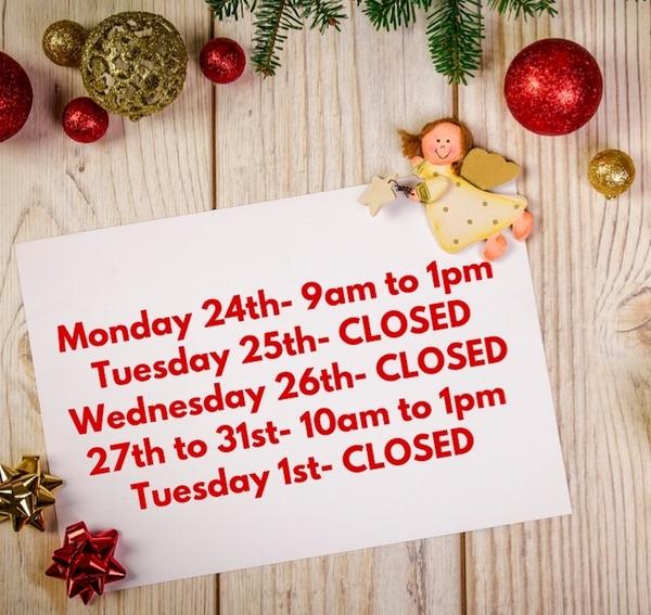 Weekly Bulletin / Programming- Christmas Countdown
