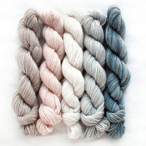 Silk Blend Fino Mini Skeins