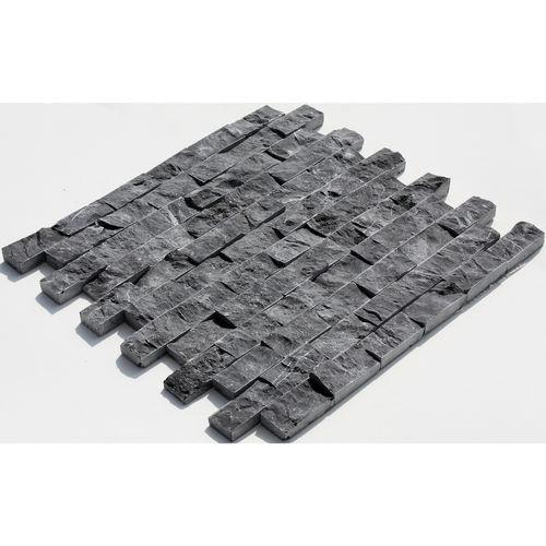 23x48 Black Toros Split Face