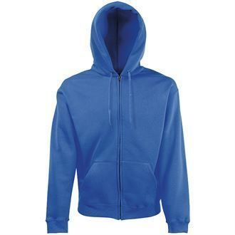 NKA Premium 70/30 hooded sweatshirt jacket SS822