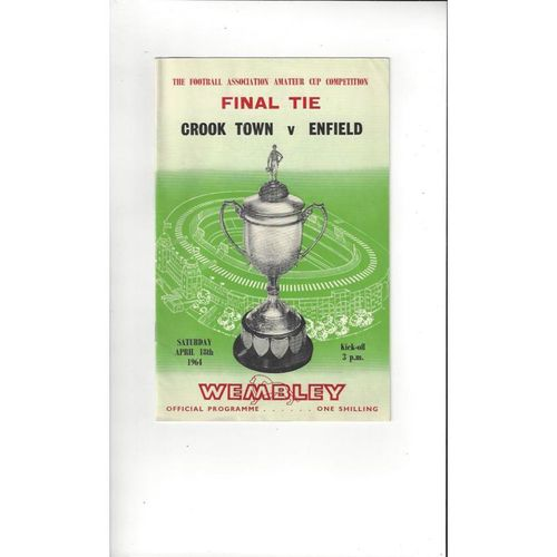 Amateur Cup Final Football Programmes