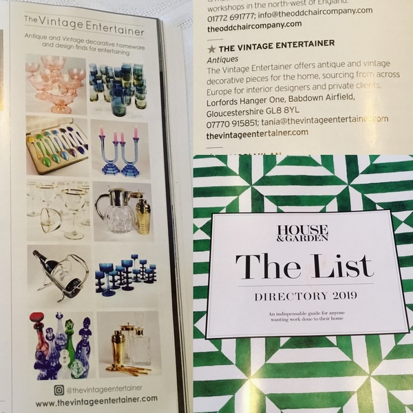 The List by House & Garden Magazine 2018