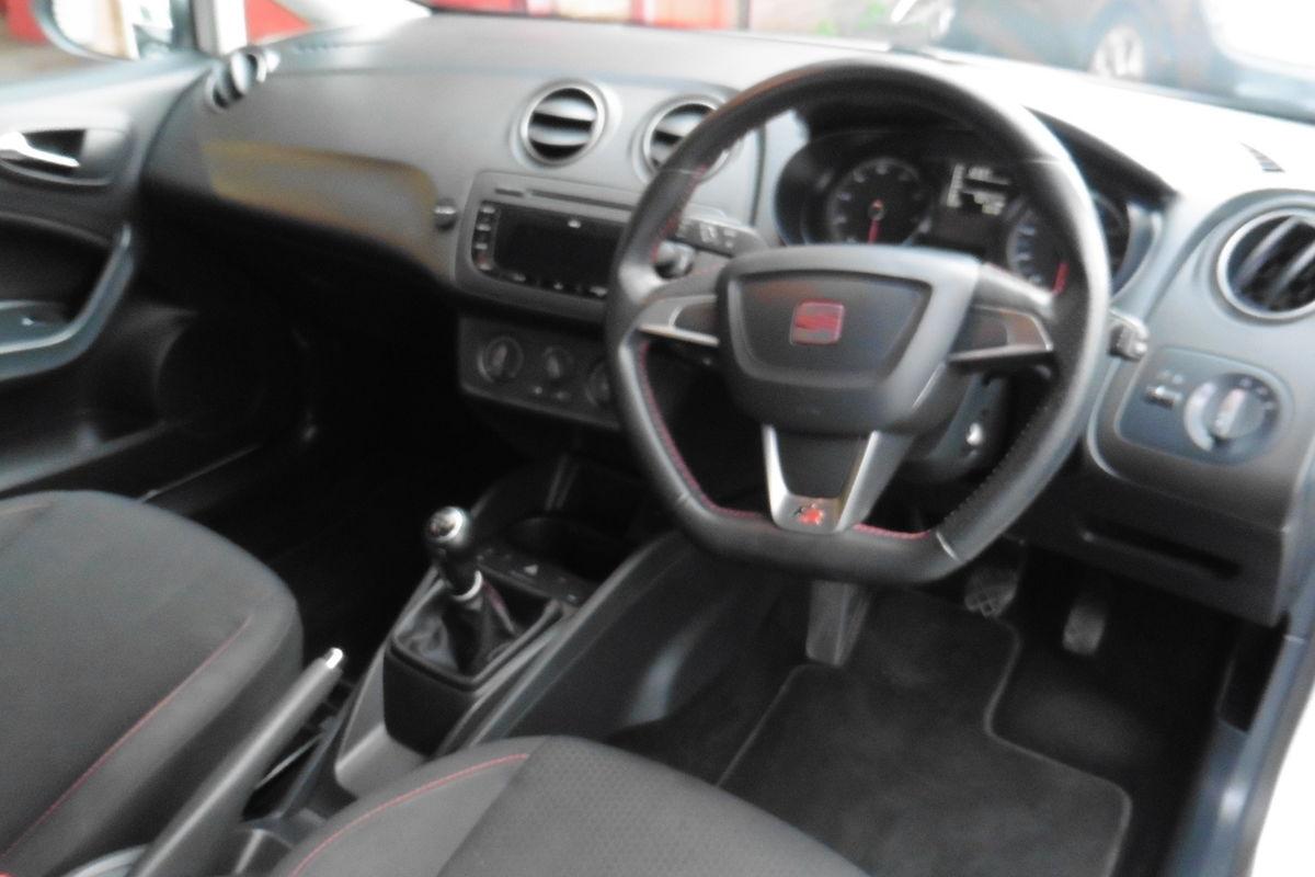 Seat Ibiza 1.2 TSI FR Sport Coupe 3dr - Full Service History - Long MOT