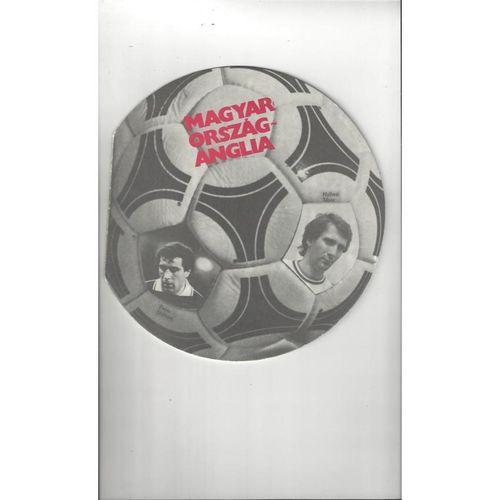 1983 Hungary v England Football Programme