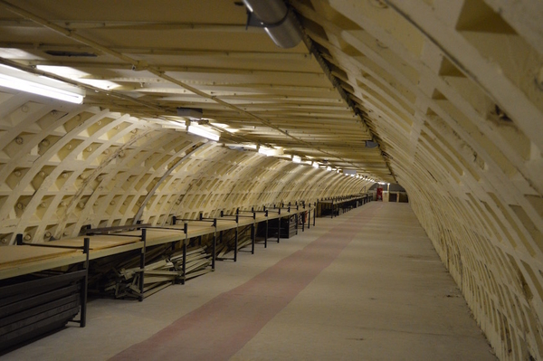 World War II tunnels under Clapham