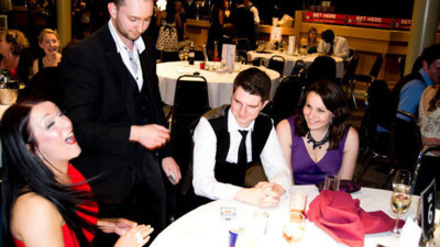 Magician Cardiff, Wedding Entertainer Cardiff, Magician Corporate Events Cardiff