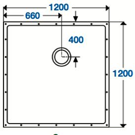 SolidDec 1200 x 1200mm