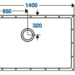 SolidDec 1400 x 900mm