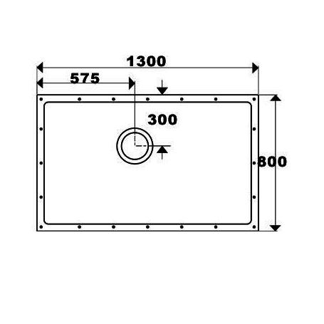 SolidDec 1300 x 800mm