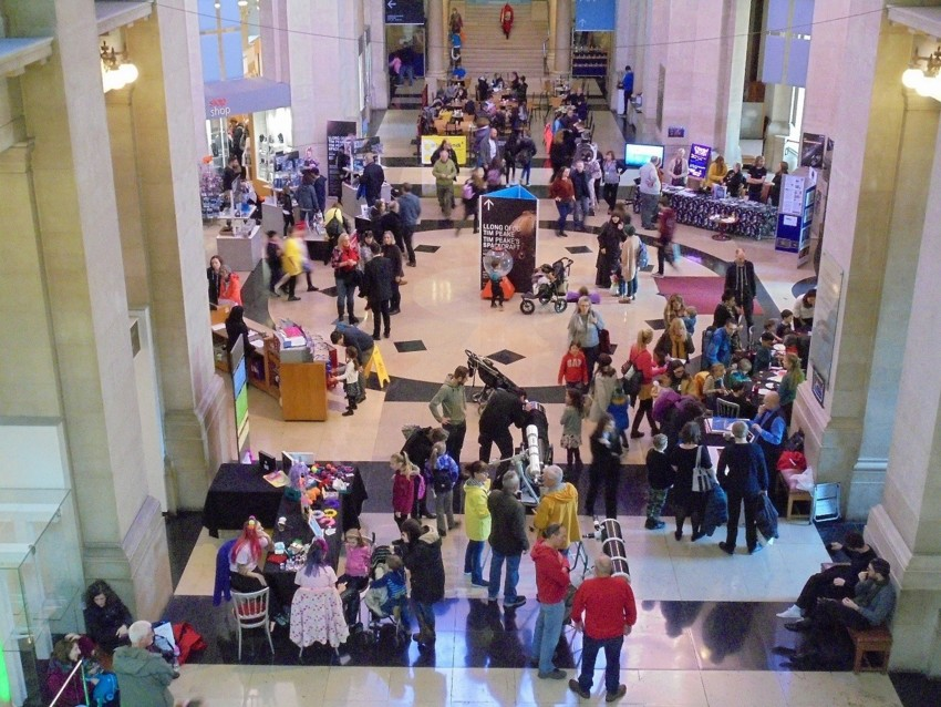 Space Capsule Family Day on Saturday, 17th November 2018