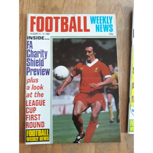 Football Weekly News 1980 Aug 6th - 12th No 51