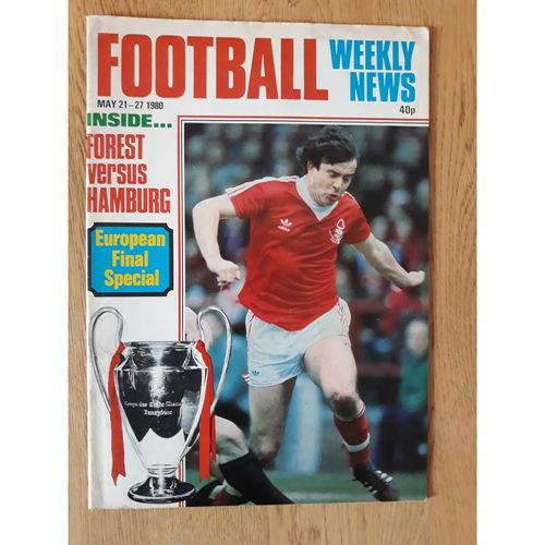Football Weekly News 1980 May 21st - 27th No 40