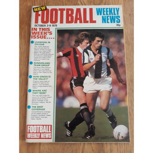 Football Weekly News 1979 3rd - 9th Oct No 7
