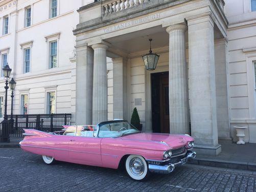 1950's Pink Cadillac