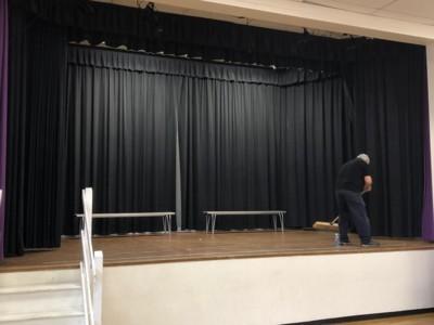 School stage lighting London and Surrey