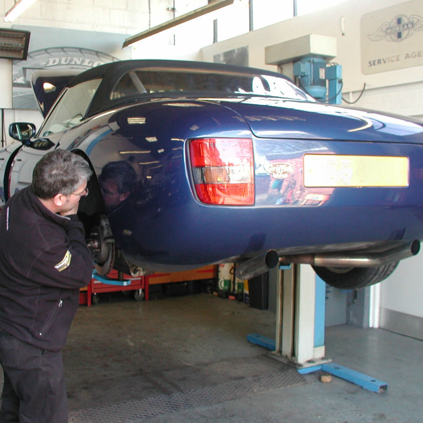 TVR Brake Upgrades