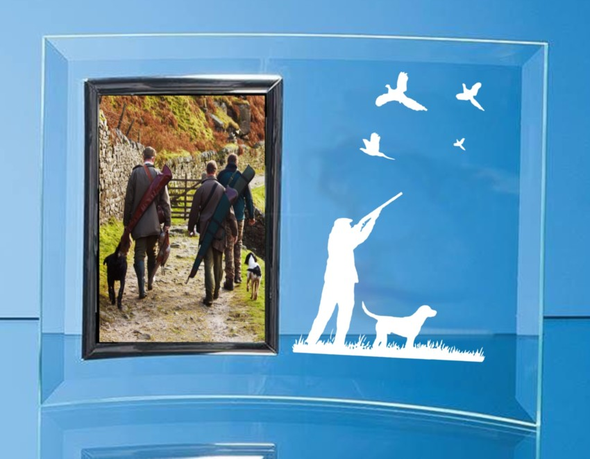 Engraved Glass Picture/ Photo Frames
