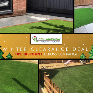 Artificial Lawn Winter Sale 10% Off