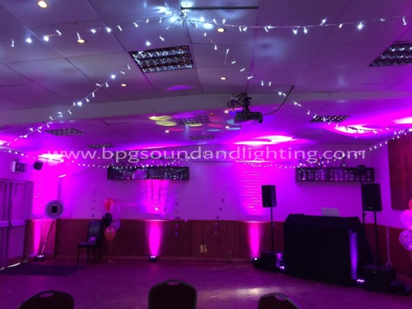 Mood Lighting Hire London, Surrey, Sussex, Kent