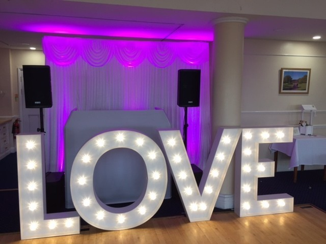 LOVE Letter Hire, London, Surrey, Sussex, Kent