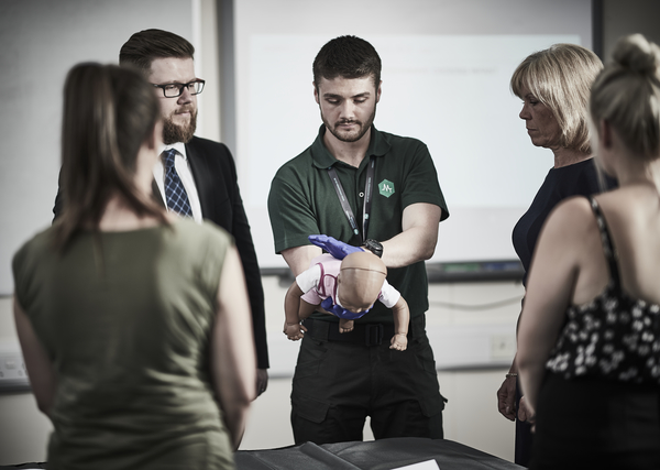Paediatric First Aid Training in Norwich