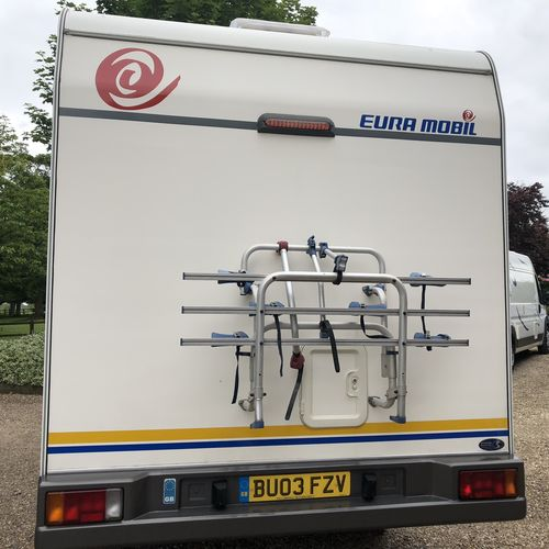 EuraMobil 500S Compact 4 Berth Motorhome Fiat Ducato 2003 2.3TD Only 59k miles