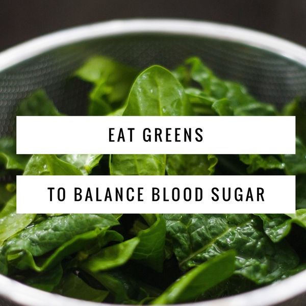 Foods to balance blood sugar and have more energy