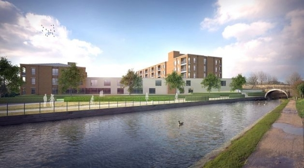 Interior design underway for flagship new build care facility in Blackburn