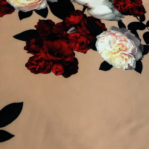 John Kaldor Blush Floral Scuba