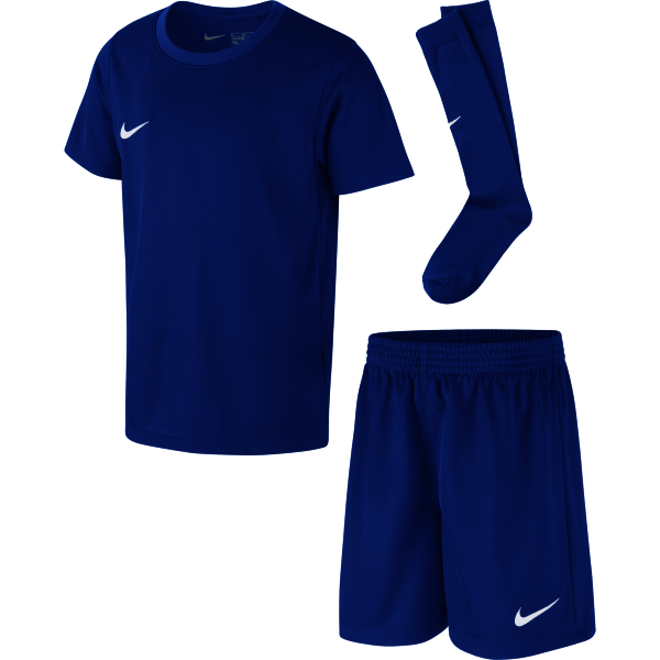 Red House Farm Royal Blue Nike Park Kit Set