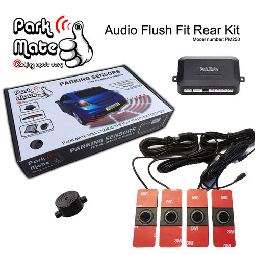 Audio Buzzer Flush Fit Rear Parking Sensors Park Mate PM250
