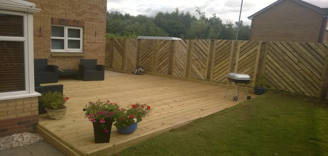 Decking | Scotia driveways and landscapes limited ...