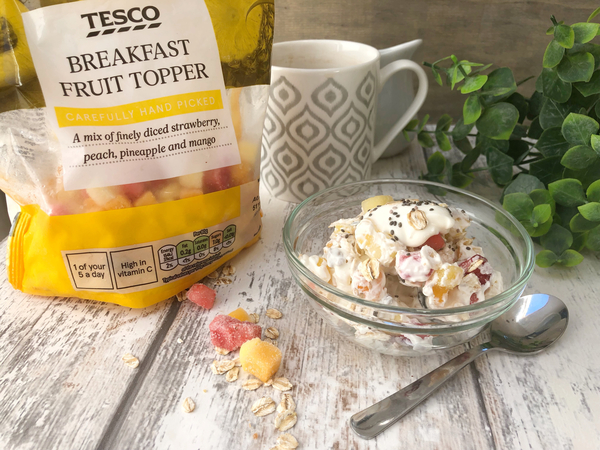 Foodie Spotlight - Tesco Breakfast Topper!