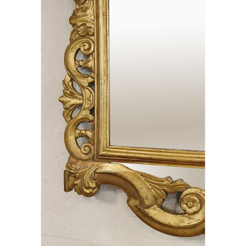 19th Century Woodcarved and Gilt Wall Mirror - £1,800