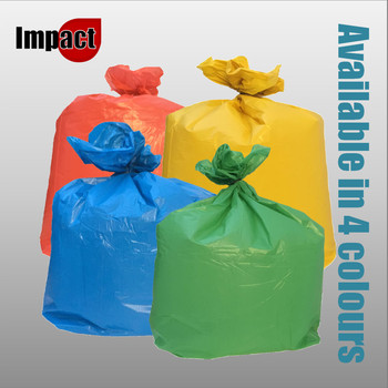 Coloured Refuse Sacks - 100