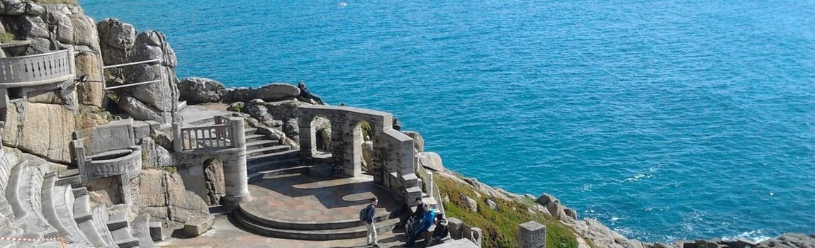 The Minack Open Air  Theatre Porthcurno Cornwall