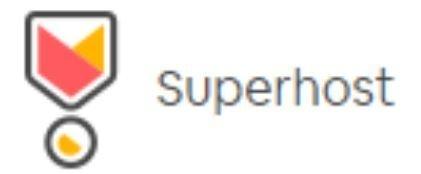 WE'RE A  SUPERHOST